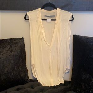 Cream Raquel Allegra tank